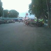 Photo taken at Taman Blambangan by Ardhito Maulana I. on 8/18/2012
