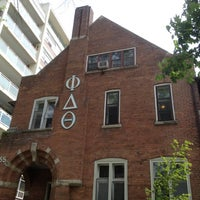 Photo taken at Ontario Alpha Chapter of Phi Delta Theta by Franco T. on 5/22/2012