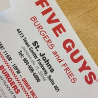 Photo taken at Five Guys by Theo B. on 4/14/2012