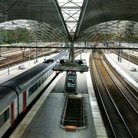 Photo taken at Leuven Railway Station by Kristof D. on 6/19/2012