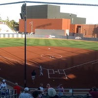 Photo taken at Rita Hillenbrand Memorial Stadium by Corey B. on 5/12/2012