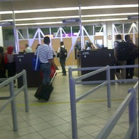 Photo taken at Immigration Check Point Ferry Terminal Batam Centre by Jacob Hope H. on 3/25/2012