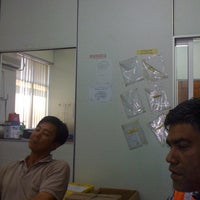 Photo taken at Gimpai Jaya Site Office by Aizat T. on 2/28/2012