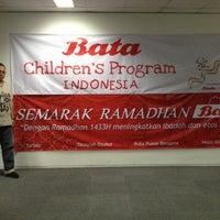 Photo taken at PT. Sepatu Bata by Giri P. on 9/7/2012