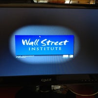 Photo taken at Wall Street Institute by Emanuela T. on 3/31/2012