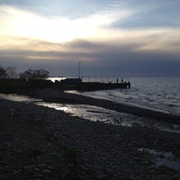 Photo taken at Avonia Beach by Connie B. on 5/6/2012