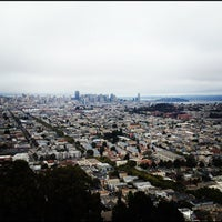Photo taken at Bernal Heights Park by Rob S. on 8/4/2012
