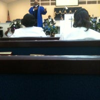 Photo taken at First Baptist Church Nineth Street by Brittany O. on 4/1/2012