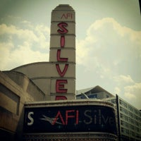 Photo taken at AFI Silver Theatre and Cultural Center by Fanchon F. on 8/30/2012