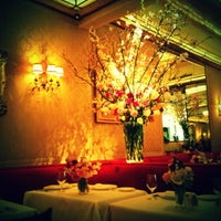 Photo taken at La Grenouille by Lilly L. on 3/26/2012