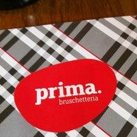 Foto tirada no(a) Prima Bruschetteria por Marie B. em 3/31/2012