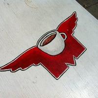 Photo taken at Flying M Coffeehouse by Derek-Lee F. on 4/24/2012