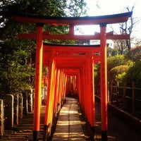 Photo taken at 乙女稲荷神社 by Miu *. on 3/11/2012