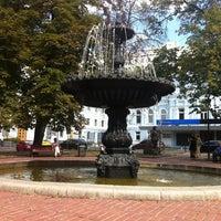 Снимок сделан в Площадь Ивана Франко пользователем Глеб П. 8/8/2012