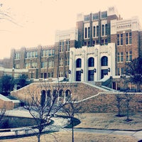 Photo taken at Little Rock Central High School National Historic Site by Alex B. on 2/27/2012