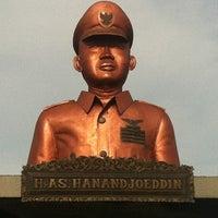 Photo taken at H.A.S. Hanandjoeddin Airport (TJQ) by Yulianus L. on 3/2/2012