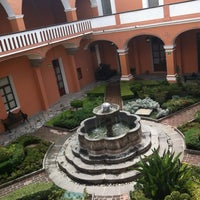 Photo taken at Museo Amparo by Aleyda G. on 6/18/2012