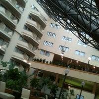 Photo taken at Sheraton Newark Airport Hotel by Jared P. on 3/18/2012