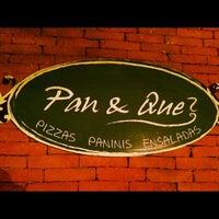 Photo taken at Pan & Qué? by Jan P. on 4/25/2012