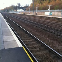 Photo taken at Hitchin Railway Station (HIT) by Kat M. on 4/11/2012