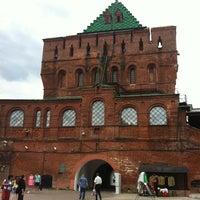 Снимок сделан в Нижегородский кремль пользователем Caltrop Н. 8/10/2012