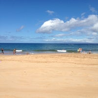 Photo taken at Wailea Beach by Angela T. on 6/19/2012