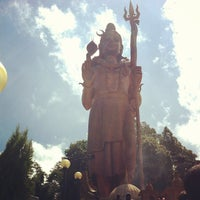 Photo taken at Lord Shiva Statue by Santos on 8/6/2012