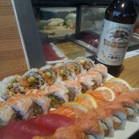 Photo taken at Banzai Sushi by Laura M. on 6/2/2012
