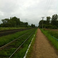 Photo taken at пос. Кунья by Vladimir K. on 7/14/2012