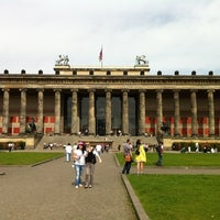 Photo taken at Altes Museum by Gichan O. on 4/29/2012