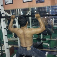 Photo taken at irvan fitness club by Inchuna Emmauwing P. on 7/14/2012