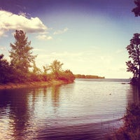 Photo taken at Belle Isle Hipster Beach by Jonathan on 6/6/2012