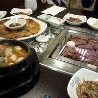 Photo taken at Sariwon Korean BBQ Restaurant 사리원 by Jungho K. on 3/24/2012