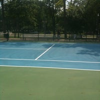 Photo taken at 41st Street Tennis Courts by Lavern B. on 6/10/2012