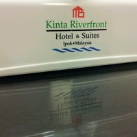 Photo taken at Kinta Riverfront Hotel & Suites by jijie k. on 6/18/2012