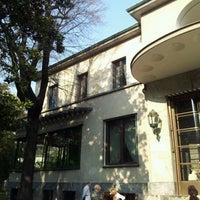 Photo taken at Villa Necchi Campiglio by Matteo D. on 3/24/2012
