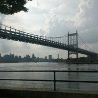 Photo taken at Robert F. Kennedy Bridge (Triborough Bridge) by Carl J. on 7/15/2012