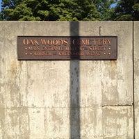 Photo taken at Oak Woods Cemetery by Huggi W. on 8/3/2012