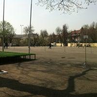 Photo taken at Curte interioară by Adina B. on 4/4/2012