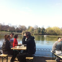 Photo taken at Pavilion Cafe by Thomas B. on 4/1/2012