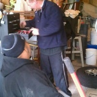 Photo taken at Polloxican Garage by Beth R. on 4/29/2012