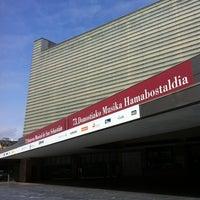 Photo taken at Palacio de Congresos Kursaal by JJ V. on 8/22/2012