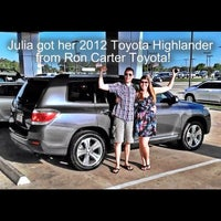 Photo taken at Ron Carter Toyota by Jimmy P. on 9/4/2012