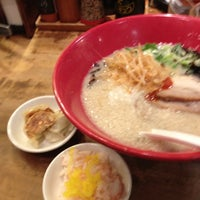 Photo taken at Ippudo by Yumi I. on 7/5/2012