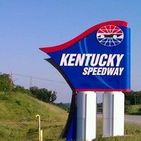 Photo taken at Kentucky Speedway by feather in the wind E. on 5/18/2012