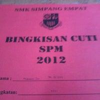 Photo taken at SMK Simpang Empat by Tan C. on 5/28/2012
