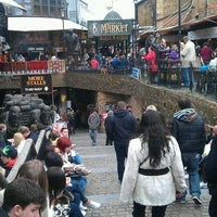 Photo taken at Camden Stables Market by Mark H. on 4/7/2012