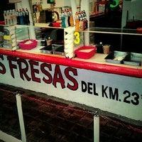 Photo taken at Las Fresas del Km 23 y 1/2 by Arturinho C. on 8/5/2012