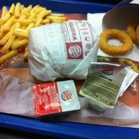 Photo taken at Burger King by Hulya ibrahim on 8/5/2012