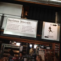 Photo taken at Serious Biscuit by Brett S. on 7/4/2012